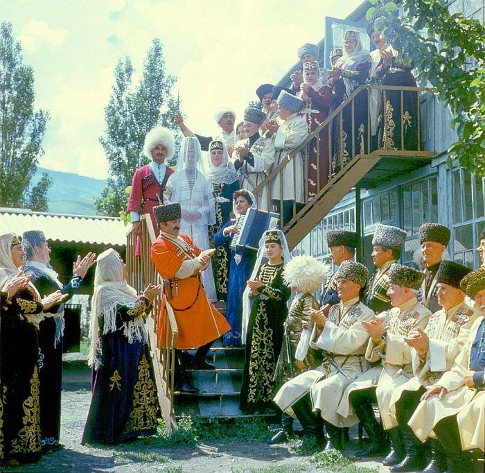 Осетинская свадьба. - Осетины - Ossetians