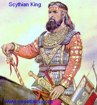 Skythský král